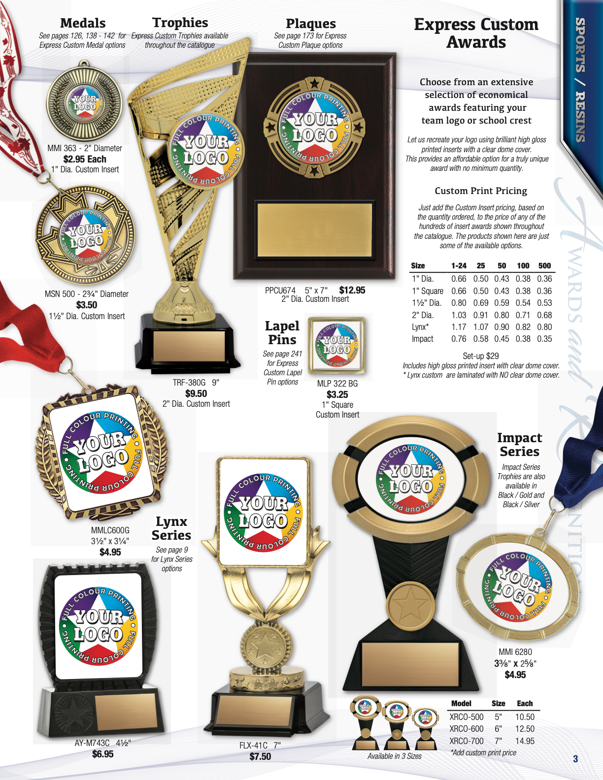 Winning Trophies - Anual Catalogue for Awards & Recognition