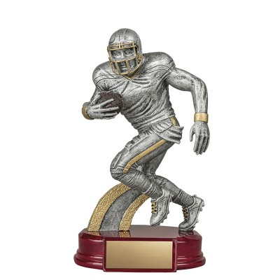 """Resin Classic Male Football, 6.25"""""""