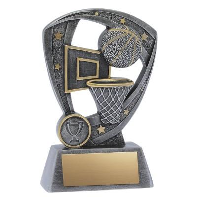 "Resin Pro Shield Basketball 6"""