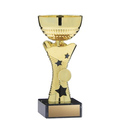 """8"""" Economy Cup Stars, Gold"""