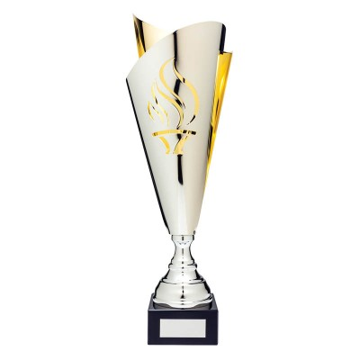 Torch Silver/Gold Euro Cup, 17.5""