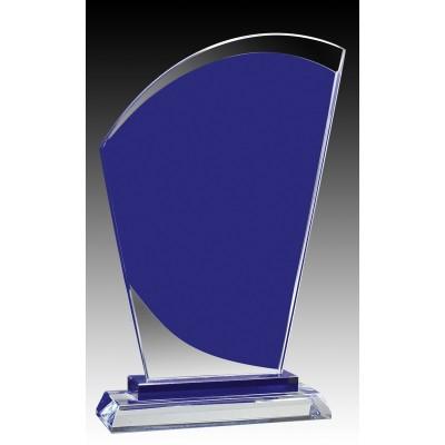 """Glass  Aqua Curve Peak 8.5"""""""
