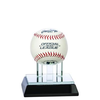 Glass Baseball Holder