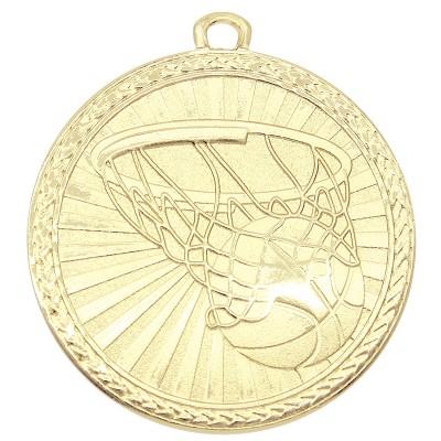 "Medal Triumph 2"" Dia. Basketball, Bright Gold"
