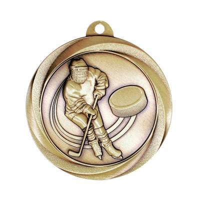 """Medal Vortex 2"""" Hockey Gold"""