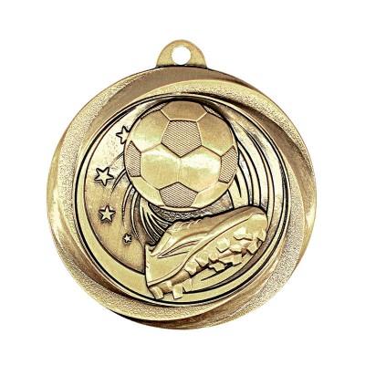"""Medal Vortex 2"""" Soccer Gold"""