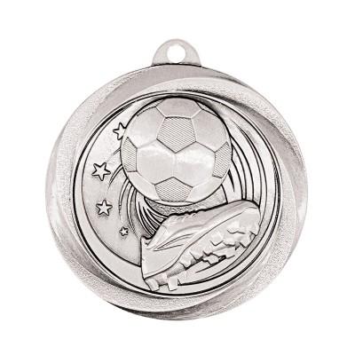"Medal Vortex 2"" Soccer Silver"