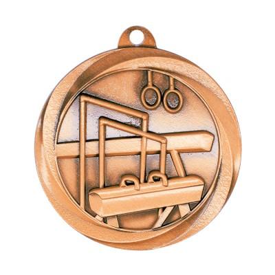 "Medal Vortex 2"" Gymnastics Bronze"