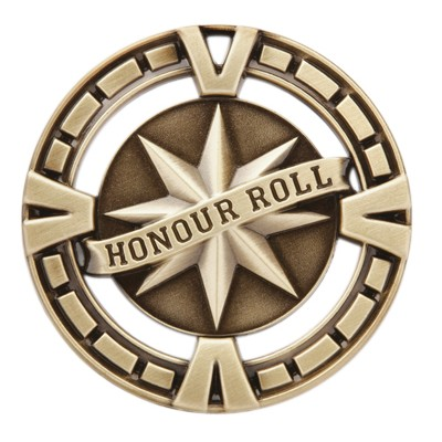 Honour Roll Varsity, Gold