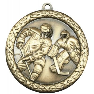 "Medal Classic 2.5"" Hockey Gold"