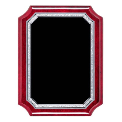 "Airflyte Series Plaques, Notched Rosewood 9""X12"""