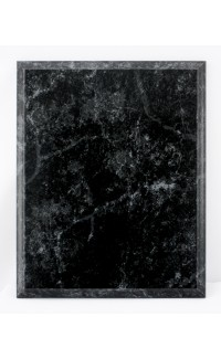 Plaque, Black Marble 10.5x13