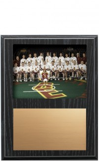 Recessed Photo Plaque, Black
