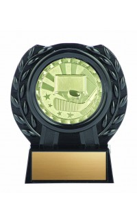 Brite Series Medal with Stand, Hockey 4""