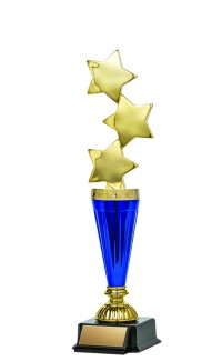 """Astral Series Triple Star on Base 11.5"""", Gold/Blue"""