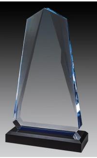 """Indigo Peak Acrylic, Blue/Black 7.75"""" Top & Base"""