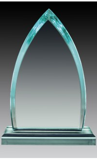 "Acrylic Jade Peak 8.75"", Top & Base"