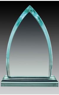 "Acrylic Jade Peak 6.75"", Top & Base"