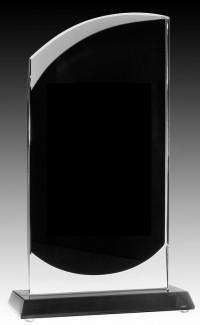"""Onyx Series Clear/Black Glass, Screen 7.25"""""""