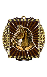 Lynx Sport Medal, Horse