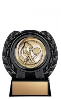 Black Acrylic Stand with Vortex Medal, 4""
