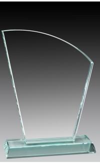 """Glass Fan, 7 1/4"""""""