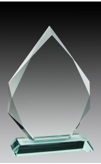 Glass Diamond Shape, 7 1/2""