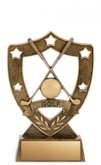 "Golf Resin, Star Shield 6"""