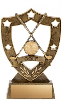 Golf Resin, Star Shield 8""