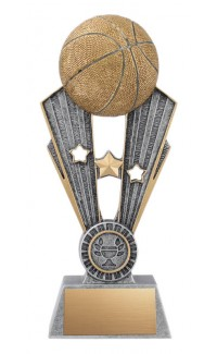 "Fame Basketball Resin, 7 1/2"""