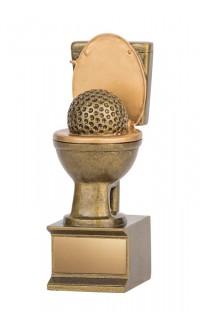 """Golden Flush Golf Resin, 6"""""""