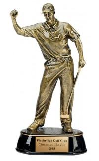 "Celebration Golfer Resin, M. 9"""