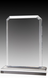 Clear Billboard Acrylic Top & Base, 6.75""
