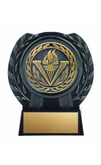 """Iron Series Medal with Stand, Victory 4"""""""