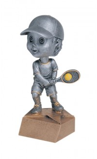 Resin - Bobblehead Male Tennis 5.75""