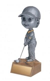 """Golf, F. Bobblehead, 5.75"""""""