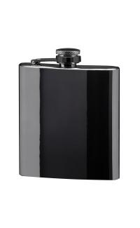 6 oz Flask, Gun Metal Stainless Steel
