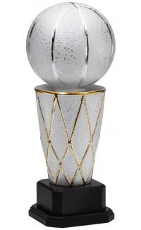 "Ceramic Sports Ball, Basketball, 19.5"""