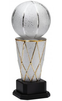 "Ceramic Sports Ball, Basketball, 16"""