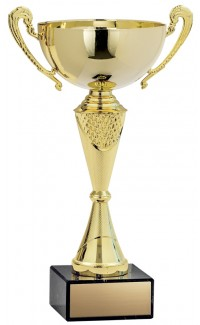 """12"""" Economy Cup Gold Hourglass"""