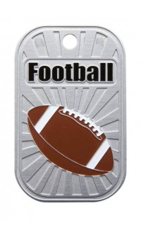 DOG TAG FOOTBALL