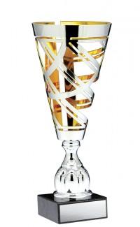 "Prestige Series Cup, Silver/Gold 16"""
