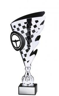 "Prestige Series Cup, Silver/Black 18.5"""