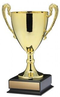 "15.5"" Prestige Cup, Gold w Handles Large"
