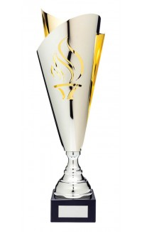"""Torch Silver/Gold Euro Cup, 17.5"""""""