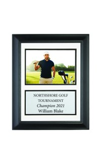"""8 1/2"""" x 11"""" Frame with Double Mat., Holds 5"""" x 7"""" Photo"""