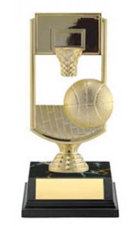 "ALL STAR BASKETBALL, 7"" FIGURE & BASE"