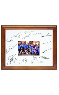 """11"""" x 14"""" Frame with White Mat., Holds 5"""" x 7"""" Photo"""