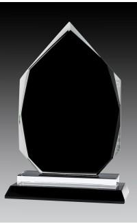 "Glass Onyx Arrowhead, 8.75"""