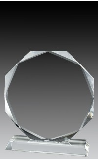 Crystal Octagon, 6 1/2""